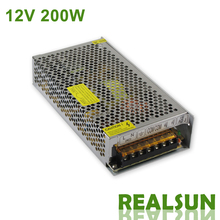 10pcs/lot 12V 16.7A 200W Switching Power Supply Driver Switching For LED Strip Light Display 110V/220V