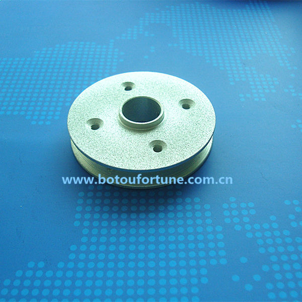 056A2 guide pulley u groove pulley for A type v-belt wire guide pulley