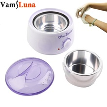 500ML Paraffin Waxing Heater & Wax Warmer Pot Hair Remover - Therapy Depilatory Salon Beauty Tool