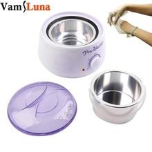 500ML Paraffin Waxing Heater & Wax Warmer Pot Hair Remover - Paraffin Wax Therapy Depilatory Salon Beauty Tool