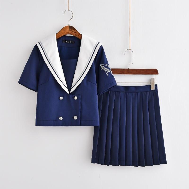 Uniformes scolaires japonais JK Harry Potter Style collège longues manches courtes costume de marin filles nouveauté uniforme scolaire Cosplay ensembles