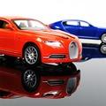 1:32 Aleación Diecast Modelo de Coche Blanco de Colección Bugatti Veyron 16C Galibier luz y sonido se Retraen Coches Modelo Juguetes Para Niños regalos