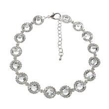 Luxury Rhinestone Embellished Collar Necklace