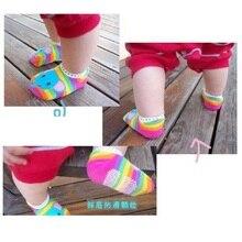 Hooyi Baby Girl Socks Bebe Boat socks Rainbow Baby Ankle socks Bee Cotton Soft non-slip Newborn Sock