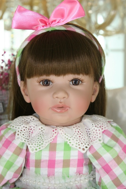 60cm Silicone Reborn Girl Baby Doll Toys 24 Vinyl Princess Toddler Babies Doll Girls Boneca High