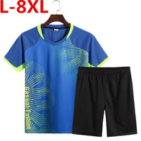 plus size 8XL 7XL 6XL Compression Shirt Short Sleeves T shirt Gyms Fitness Clothing Solid Color Quick Dry Crossfit Lycra Tops