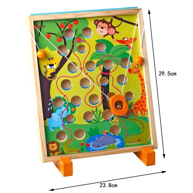 Image 4 - Childrens toys Kindergarten Dongyi Intelligence Desktop parent child interaction balance hand eye coordination Balance gameColor & Shape   -