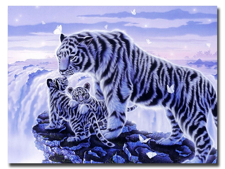 Blingee Wallpapers Tigers Diamonds