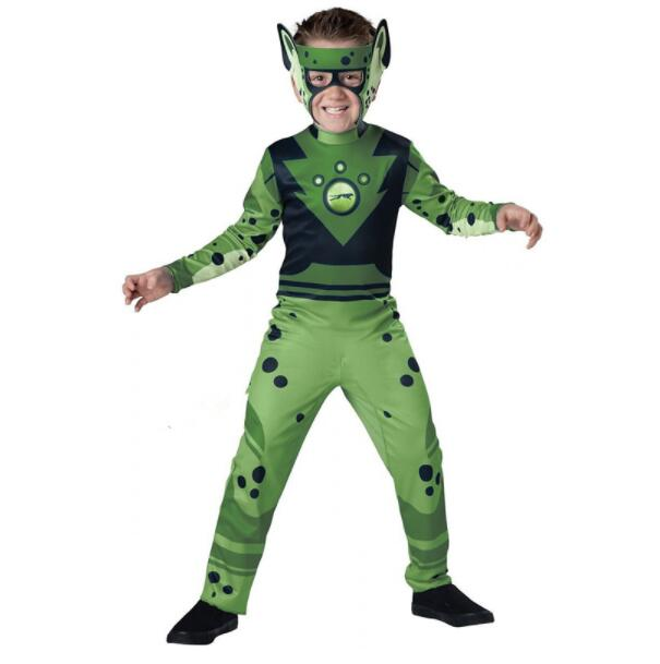 Wild Kratz Costume Creature Power Suit Kids Halloween Fancy dress Wild Kratz Masquerade Suits