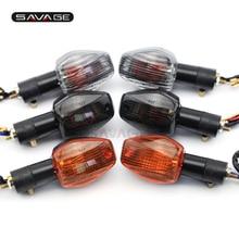Включите индикатор сигнала лампы для HONDA CB400SF/CB600F/CB900F Шершень/RVT 1000R Аксессуары для мотоциклов шоры декоративные
