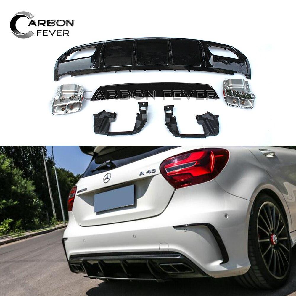 Aliexpress.com : Buy Rear Bumper Diffuser With AMG