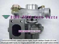 GT2252S 452187 452187 5006 S 14411 69T00 709693 Turbo турбонагнетатель для Nissan CabStar 1996 M100 торговли L35 BD30TI BD 30Ti 3.0L