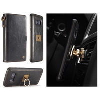 Phone Cases For Samsung Galaxy S8 S8 Plus Luxury Retro Multifunction Leather Wallet Card Pocket 2