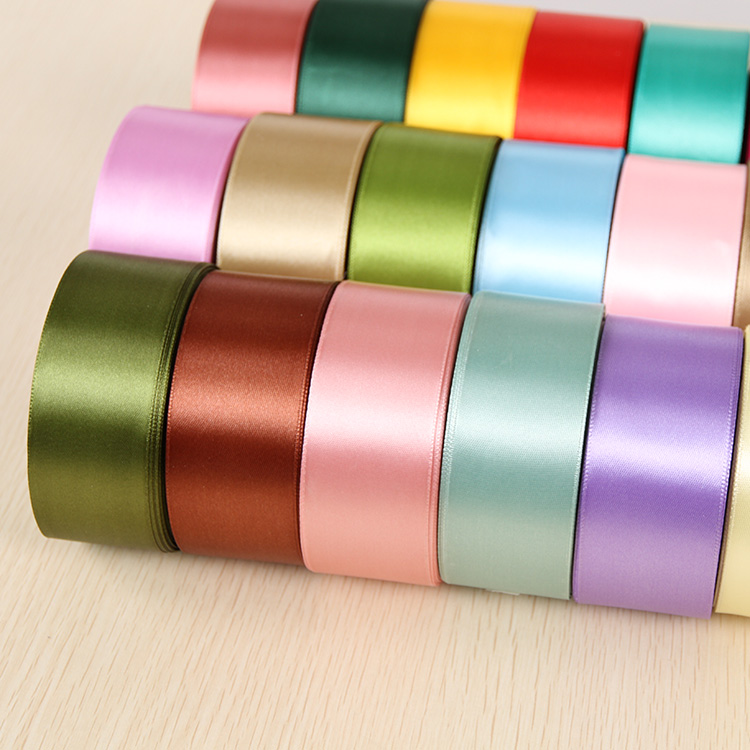 "wide per 5m length Pink 1//4/"" Double Sided Satin Ribbon 6mm Clearance"
