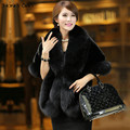 Honey Qiao Black Faux Fur Stoles Wedding Boleros Burgundy Bridal Fur Wrap Jackets White Winter Wedding Coat Wedding Accessories