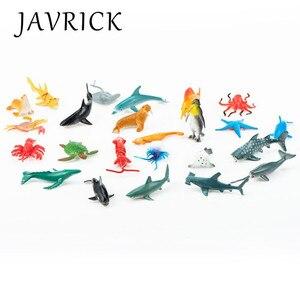 24 шт./компл. прессформу эпоксидной смолы для наполнения Материал моделирование глубоководных животных биологического модель детских игруш...