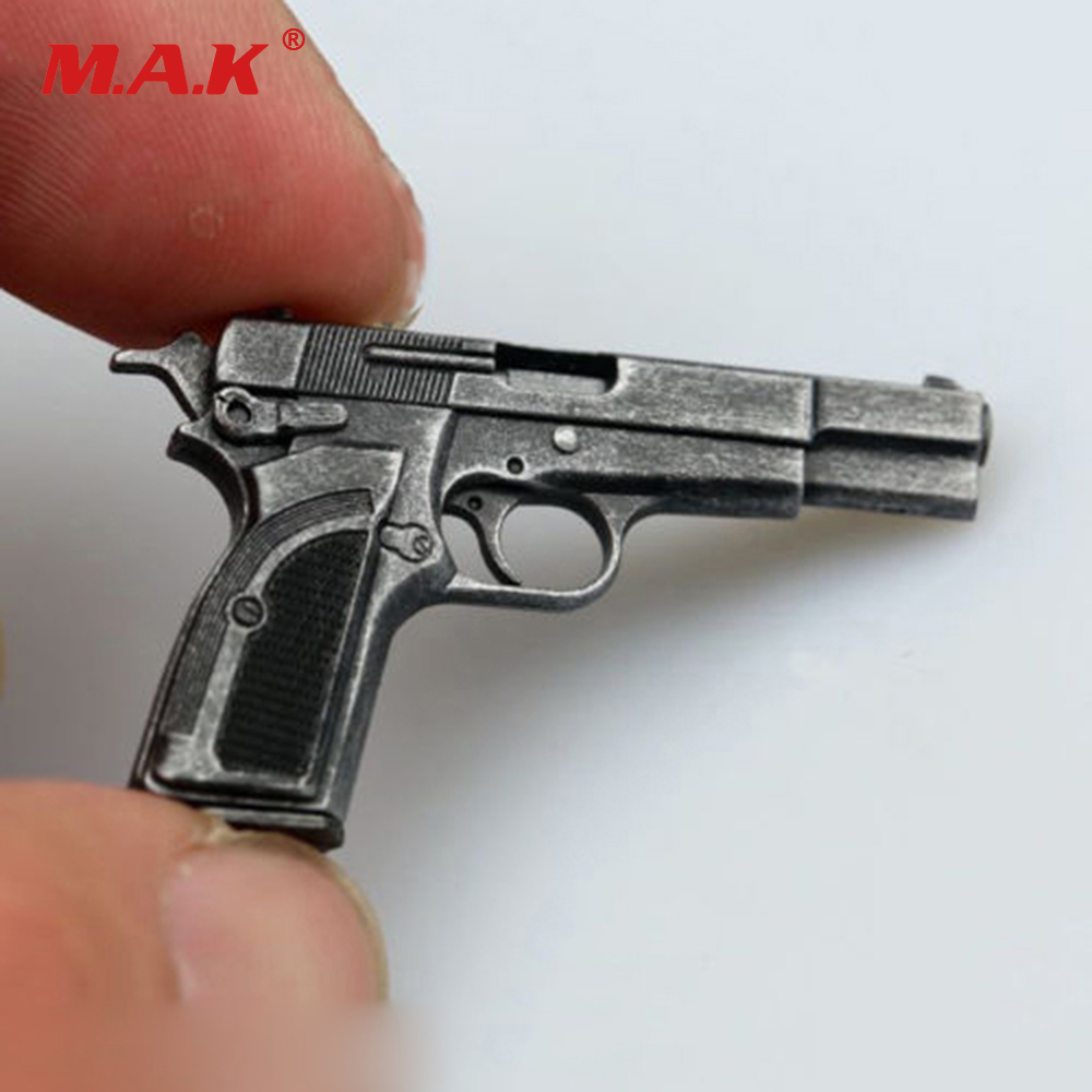 1:6 Scale M1935 Browning MK3 Pistol Weapon Gun Model 12 inches Action Figure Accessories 1 6 scale rifle gun model for 12 inches action figure accessories collections x80028 m700pss x80026 psg1