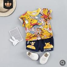 Baby Boys Clothes Set Summer Short Sleeve Suits for A