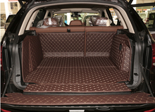 Good! Special trunk mats for BMW X5 5seats F15 2017-2014 durable waterproof boot carpets cargo liner for X5 2015,Free shipping