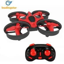 Мини Drone RC Quadcopter LeadingStar 2.4 Г 6-осевой Гироскоп 9.5*5 СМ Без Головы режим Один Ключ Возвращение Вертолет Игрушки Для Детей ПРОТИВ H8 H36