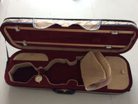 violin case quality violin case suitable for 4/4 size violins one hand made case