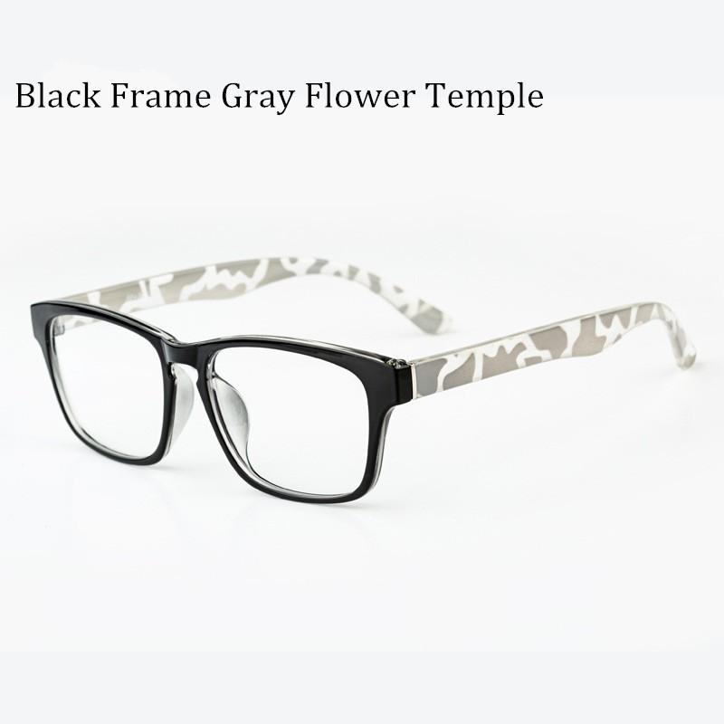 Besar Bingkai Kacamata Hitam Kacamata Bergaya Wanita dan Pria Kacamata  Miopia Tontonan Mahasiswa Modis Kacamata Resep Bingkai 7872fabefb