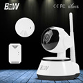 BW Wireless IP Camera Portable with SD Card Slot Plug Play WIFI Surveillance Security CCTV Home Sensor Detector Alarm GSM Webcom