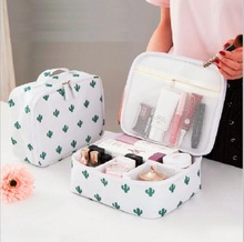 Men Women Make up Makeup Organizer Bag Cosmetic Bag Toiletry Portable Outdoor Travel Kits