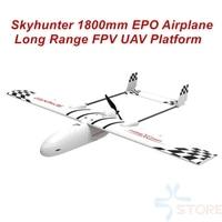 2018 New Skyhunter 1800mm 1.8m EPO Wings FPV Platform UAV Remote Control Electric Powered Glider FPV Airplane Frame Kit