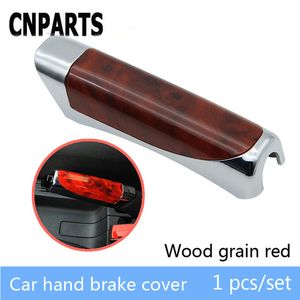 CNPARTS Car Styling For Volvo S60 V70 XC90 Subaru Forester Peugeot 307 206 308 407 Hand Brake Handbrake Sticky Cover