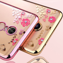 For Xiaomi Redmi 5 Plus Case 5.99 Silicone Glitter Flower Bling Diamond Back Phone Cases For Xiaomi Redmi 5 Plus Cover Soft TPU