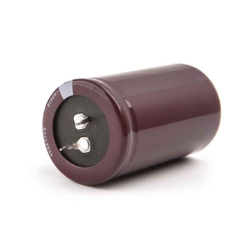 Frekuensi Tinggi 450 V 1000 UF Aluminium Kapasitor Elektrolit Volume 35X60