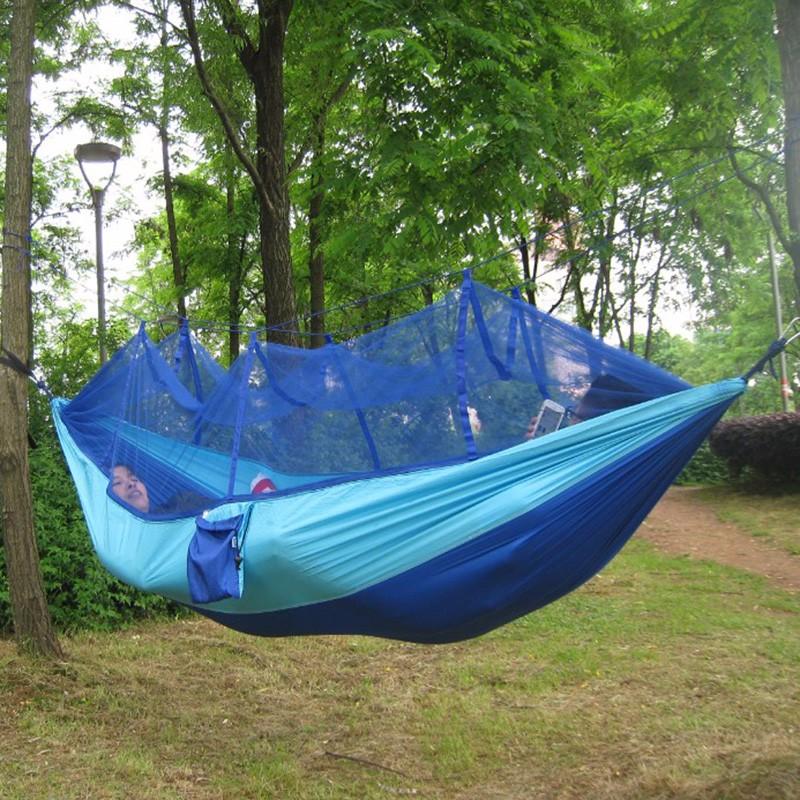260x130cm Portable Tents High Strength Parachute Fabric