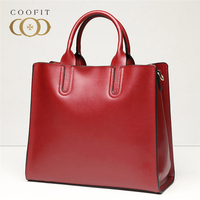 Coofit Luxury Handbags Women Bags Designer Quality Leather Top Handle Bags New Arrival Ladies Elegant Bags