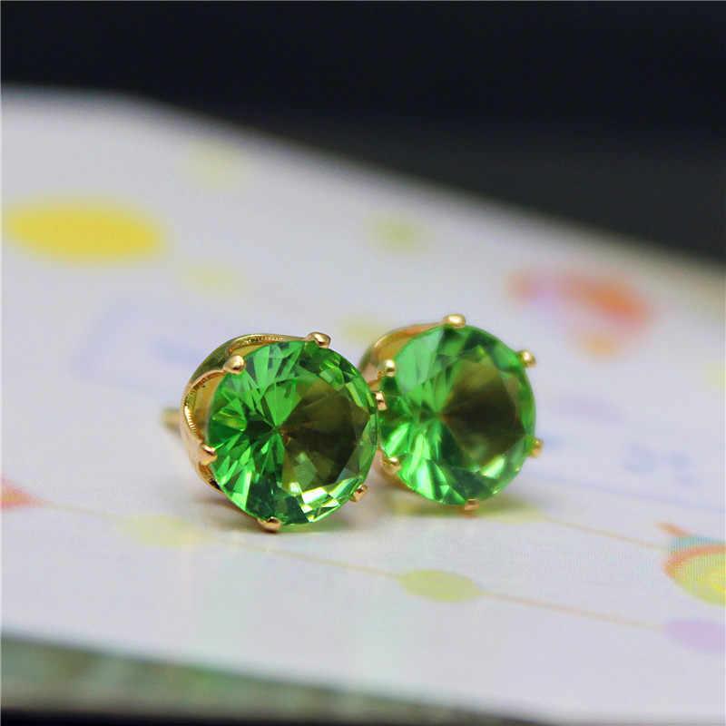 2019 marke schmuck luxus österreichischen kristall ohrringe für frauen gold für frauen stud ohrringe für mädchen geschenk
