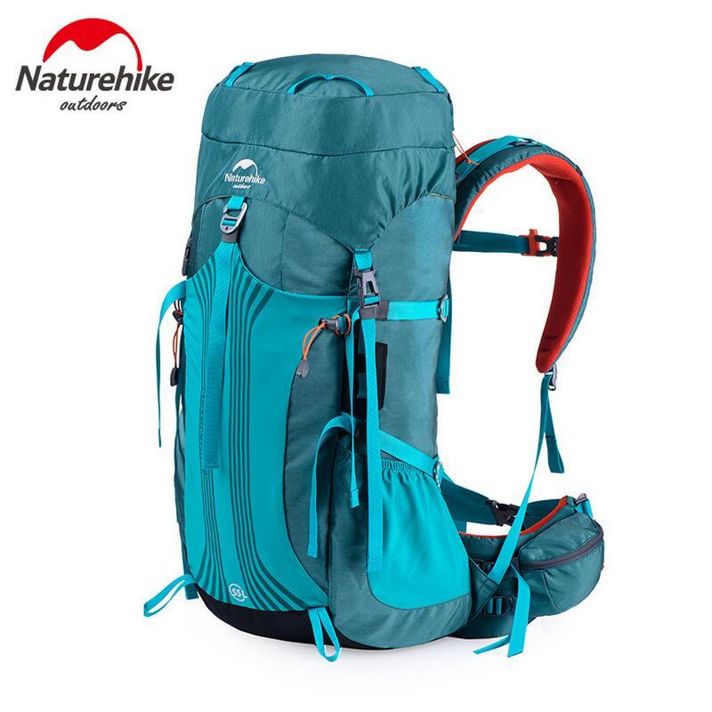 Prix pour Naturehike 55l camping de sport sac à dos hommes femmes en plein air voyage sac à dos étanche chasse pêche randonnée sac 65l sac à dos