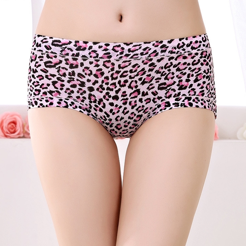 7ab3838d9cff2 AipBuuny Hipster Superelastic Leopoard Women Panties Sexy Push up Breathable  Boyshort Night Sleep Wear Lingerie Underware Briefs-in women s panties from  ...