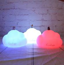 Семь цветов pat ночной Светильник Mengxiong кролик pat лампа USB pat креативная лампа