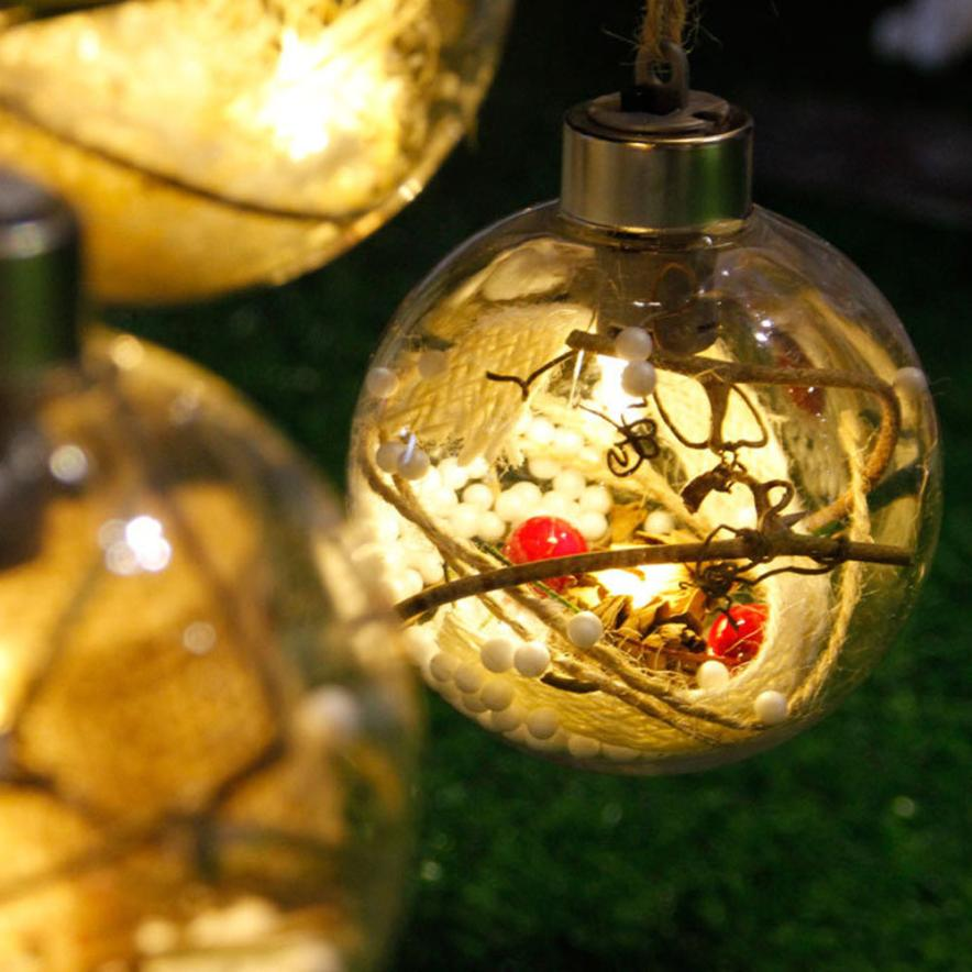Aliexpress.com : Buy Merry Christmas Tree LED Bulb Light Ball Ornament Xmas  Garden DIY Festival Decoration In Home #TX From Reliable Decorative  Decorative ...