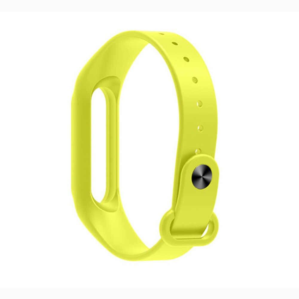 สำหรับ Xiao mi mi Band 2 สายรัดข้อมือซิลิโคนสายคล้องคอกีฬาสำหรับ mi band 2 สายรัดข้อมือยางนาฬิกาเข็มขัด
