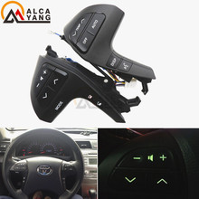 Кнопки Bluetooth телефон для Toyota Highlander 84250-0E120 Руль аудио Управление Кнопка 84250-0E220 84250-0K020