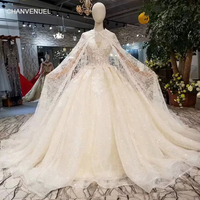 LSS344 long cape wedding dresses off the shoulder sweetheart lace up wedding  gowns with train elegant f6eb59cec546
