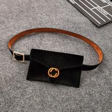 2018 Beg baldu beg pinggang baru Wanita pinggang BagLeather fesyen wanita Waistbag Bum Bag Belt wanita Fanny pek untuk Waistbelt wanita
