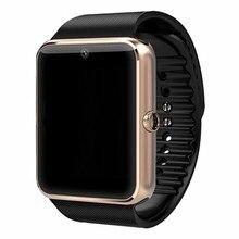 Bluetooth Smart Watch GT08 Для Apple iphone IOS Android Phone Носить наручные Поддержка Синхронизации смарт часы Сим-Карты ПК DZ09/GV08S/U8