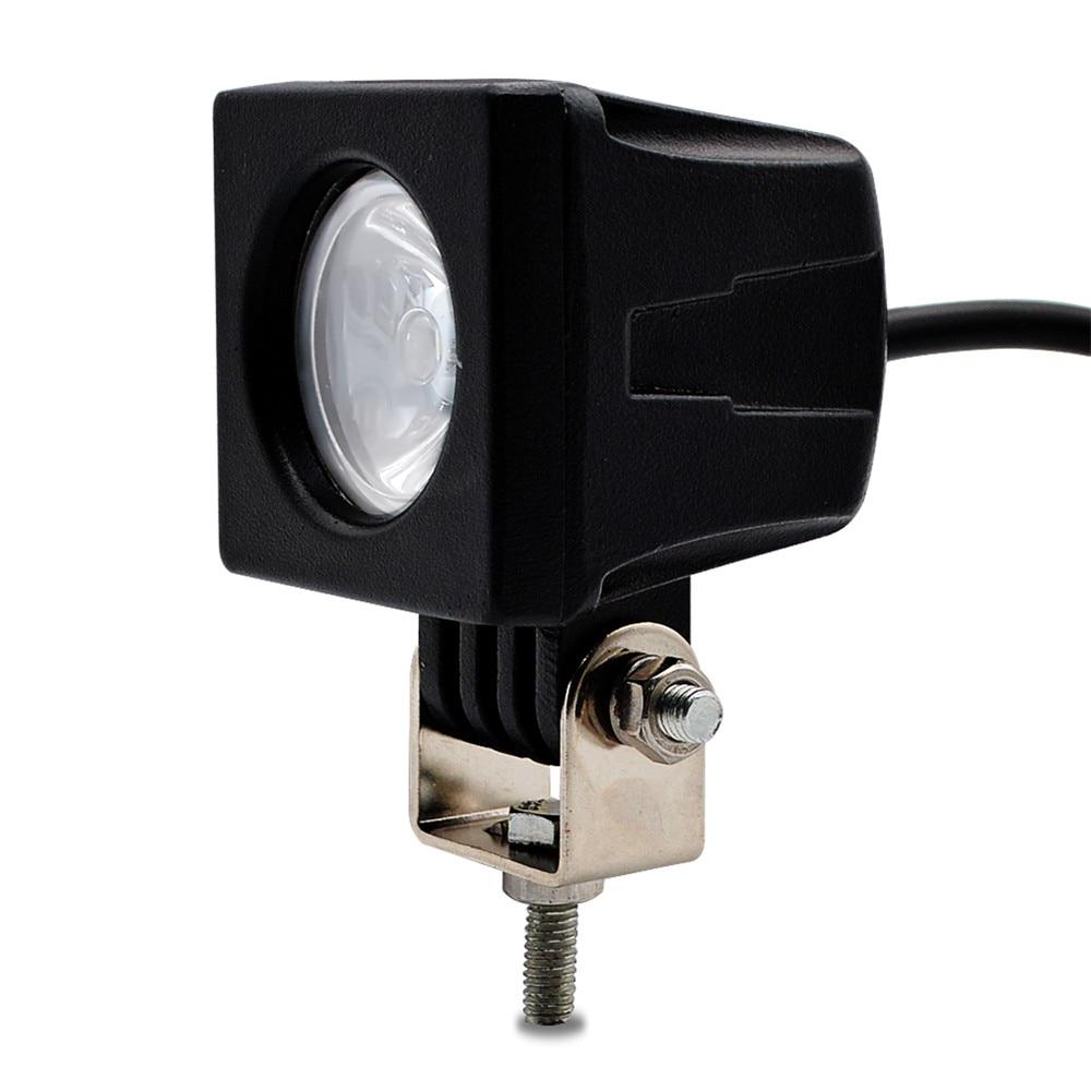 1 개 2 ''LED 10 와트 작업 램프 800LM 스팟 홍수 빔 작업 - 자동차 조명 - 사진 2