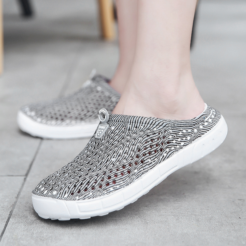2018 women's casual Clogs Breathable sandals home valentine slippers summer slip on women