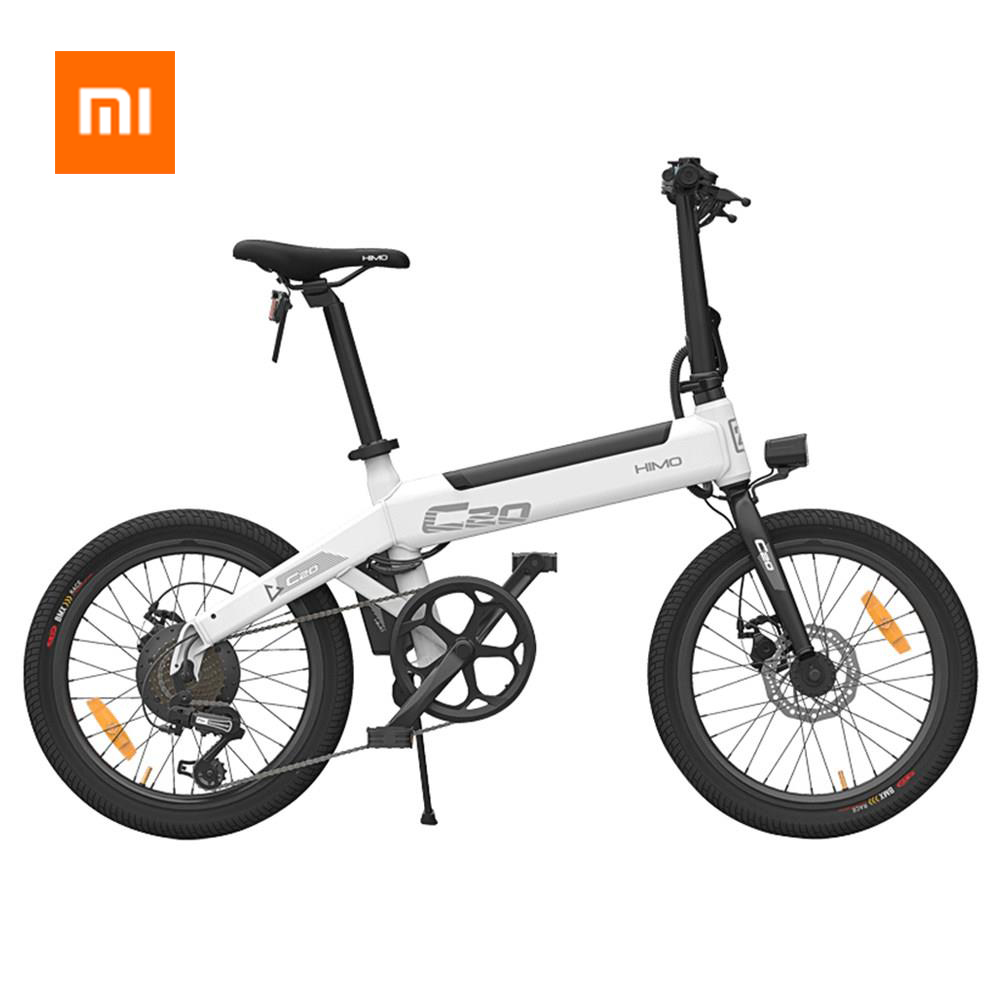 100% Original Xiaomi HIMO C20 25 kmh Bicicleta Elétrica ebike Do Motor 250W e bicicleta 80KM Quilometragem Elétrico Ao Ar Livre bicicleta 20 polegada Pneu