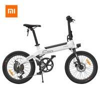 100% Original Xiaomi HIMO C20 Electric Bicycle 250W Motor ebike 25km/h e bike 80KM Mileage Outdoor Electric bike 20 inch Tire