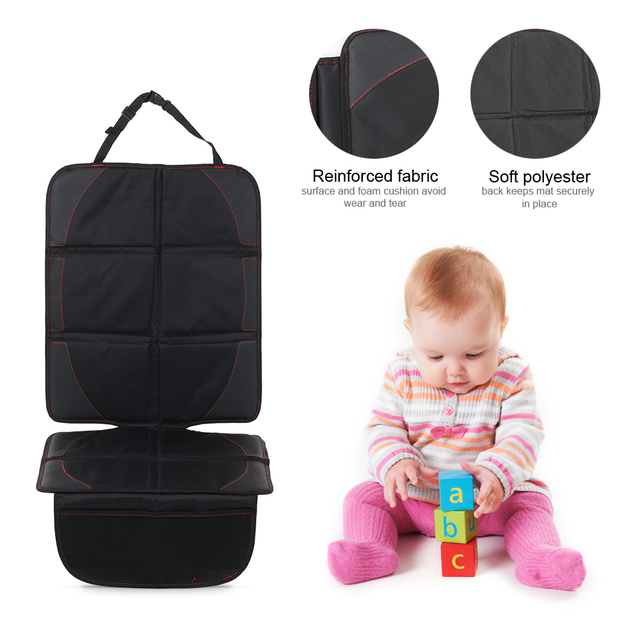 New 2017 Baby Car Seat Protector Set Cushion Infant Elite Mat Improved Protect For Child Car Seats Baby Stroller Accessories In Strollers Accessories