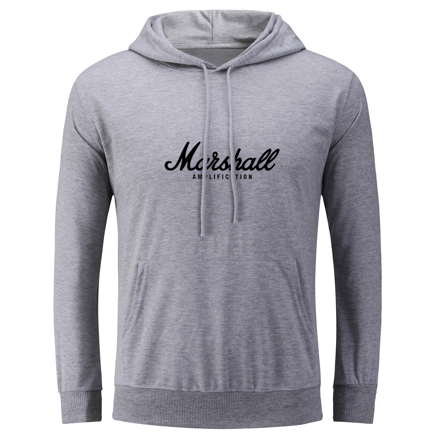 iDzn Hip Hop Harajuku Womens Hoodies MARSHALL Amps Amplifiers Amplification Guitar Symbol Graphic Printed Sweatshirts Tops S-3XL